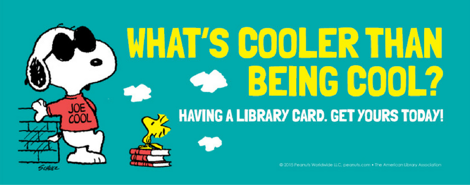 Library Card Sign-up Month web slide